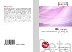 Buchcover von Ute Lemper