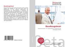 Buchcover von Bauabzugsteuer