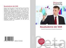 Buchcover von Bauakademie der DDR