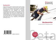 Buchcover von Baubeamter