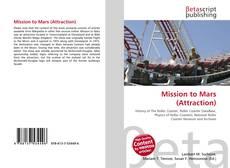 Copertina di Mission to Mars (Attraction)