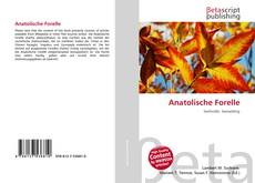 Bookcover of Anatolische Forelle