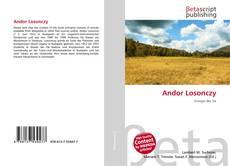 Buchcover von Andor Losonczy