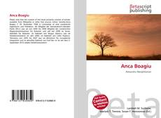 Bookcover of Anca Boagiu
