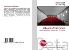 Capa do livro de Sebastian Schlemmer