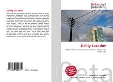 Buchcover von Utility Location