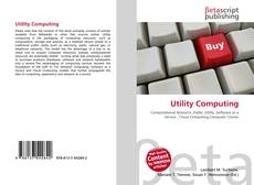 Bookcover of Utility Computing