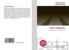 Tavo Vildósola kitap kapağı