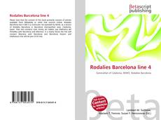 Bookcover of Rodalies Barcelona line 4