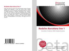 Bookcover of Rodalies Barcelona line 1