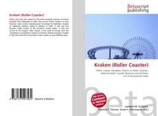 Capa do livro de Kraken (Roller Coaster)