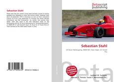 Buchcover von Sebastian Stahl