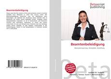 Bookcover of Beamtenbeleidigung