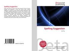 Borítókép a  Spelling Suggestion - hoz
