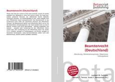 Capa do livro de Beamtenrecht (Deutschland)