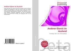 Bookcover of Anderer Dienst im Ausland