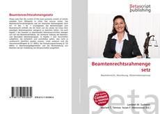 Bookcover of Beamtenrechtsrahmengesetz