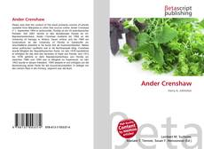 Bookcover of Ander Crenshaw