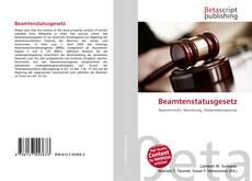 Bookcover of Beamtenstatusgesetz