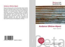 Bookcover of Andance (Rhône-Alpes)