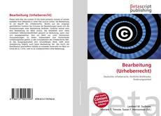 Bearbeitung (Urheberrecht) kitap kapağı
