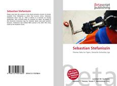 Capa do livro de Sebastian Stefaniszin