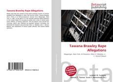 Bookcover of Tawana Brawley Rape Allegations