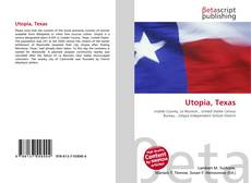 Bookcover of Utopia, Texas