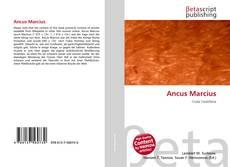 Bookcover of Ancus Marcius
