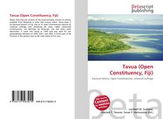 Bookcover of Tavua (Open Constituency, Fiji)