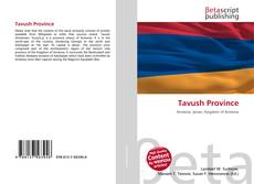 Bookcover of Tavush Province