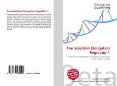 Bookcover of Transcription Elongation Regulator 1