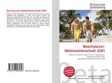 Bookcover of Beachsoccer-Weltmeisterschaft 2001