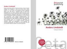 Capa do livro de Anders Lindstedt