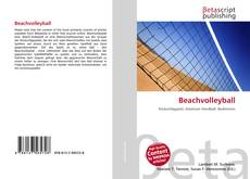 Beachvolleyball kitap kapağı
