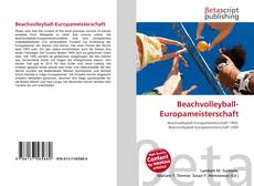 Bookcover of Beachvolleyball-Europameisterschaft