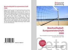 Beachvolleyball-Europameisterschaft 2000 kitap kapağı