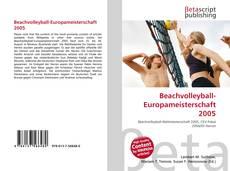 Beachvolleyball-Europameisterschaft 2005 kitap kapağı