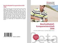 Beachvolleyball-Europameisterschaft 2006 kitap kapağı