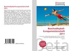 Beachvolleyball-Europameisterschaft 2011 kitap kapağı