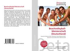 Beachvolleyball-Meisterschaft (Deutschland) kitap kapağı