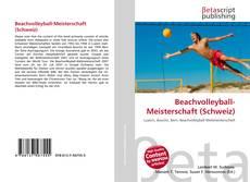 Beachvolleyball-Meisterschaft (Schweiz) kitap kapağı