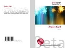 Capa do livro de Andere Kraft