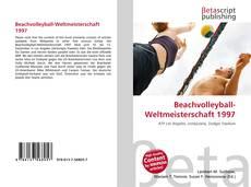 Beachvolleyball-Weltmeisterschaft 1997 kitap kapağı