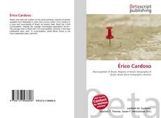 Capa do livro de Érico Cardoso