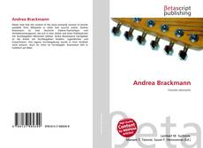 Bookcover of Andrea Brackmann