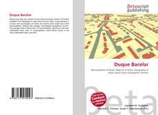 Bookcover of Duque Bacelar