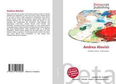 Capa do livro de Andrea Alovisii