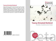 Bookcover of Tawny-throated Dotterel