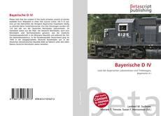 Bayerische D IV的封面